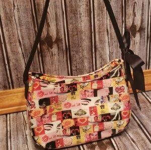 Relic Love, Kiss and Tell pin up handbag
